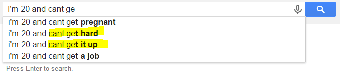 google search impotence