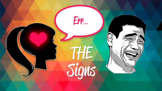 signs that a girl likes you
