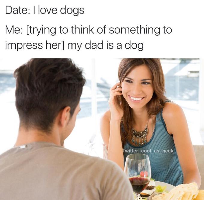 impressing a woman