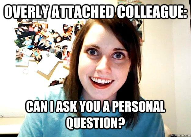 meme personal question
